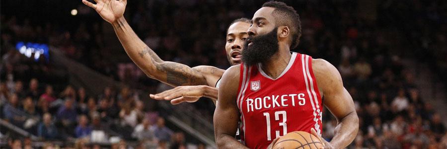 San Antonio at Houston NBA Playoffs Odds & Game 3 Prediction