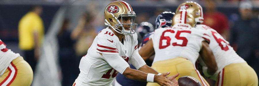 49ers vs Vikings 2018 NFL Week 1 Spread & Analysis