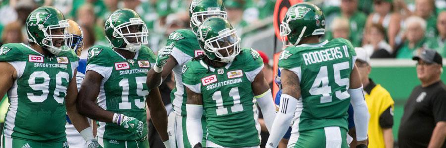 Is Saskatchewan a safe bet for CFL Week 13?