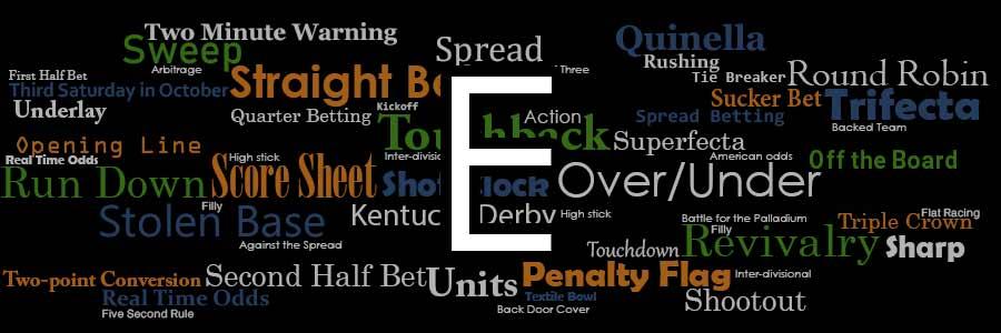 Sports Explained: Glossary E