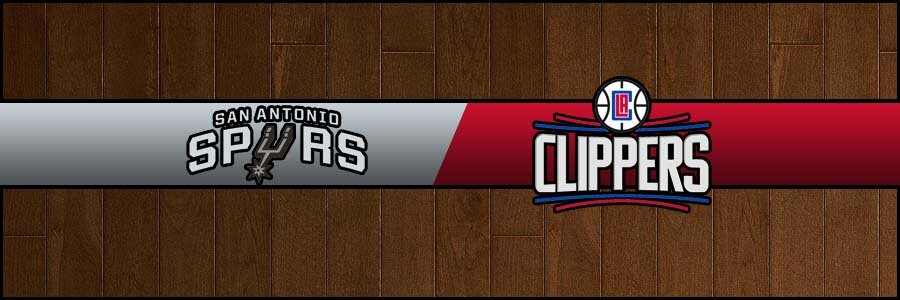 Spurs @ Clippers Result Thursday Basketball Score