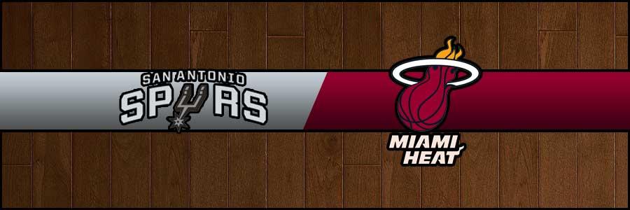 Spurs vs Heat Result Basketball Score