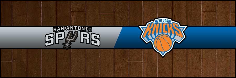Spurs vs Knicks Result Basketball Score