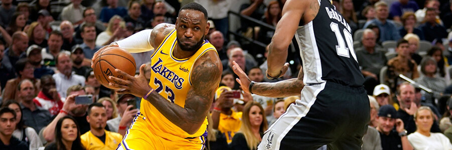 Spurs vs Lakers 2020 NBA Spread, Game Info & Expert Preview