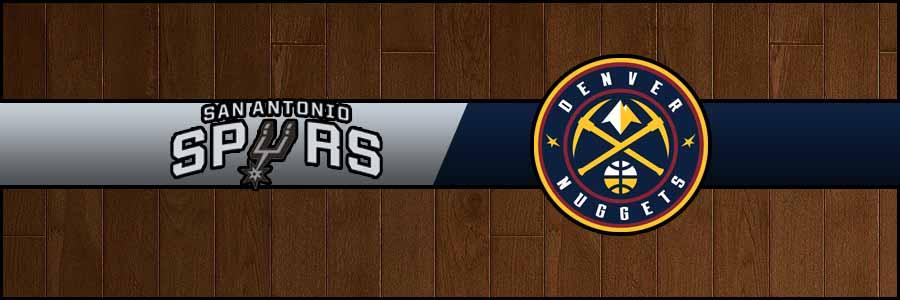 Spurs vs Nuggets Result Basketball Score