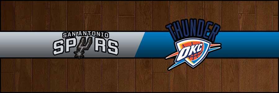 Spurs vs Thunder Result Basketball Score