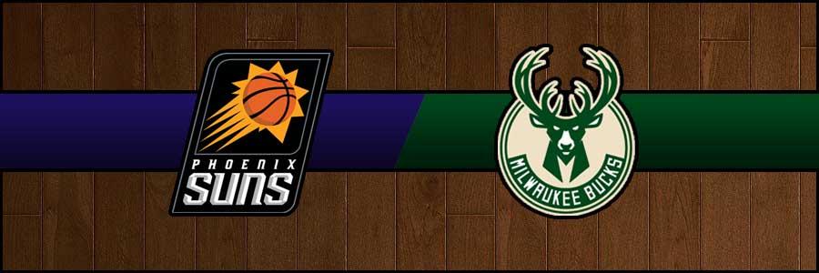 Suns vs Bucks Result Basketball Score