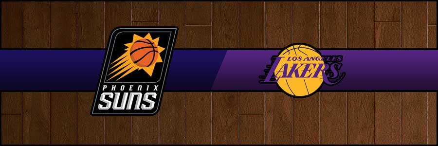 Suns vs Lakers Result Basketball Score