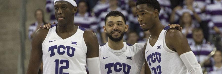 TCU vs Kansas NCAAB Lines, Pick & Prediction