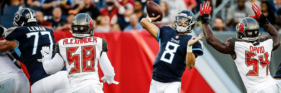 Titans at Dolphins 2018 NFL Week 1 Lines & Prediction