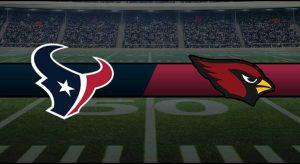 Texans vs Cardinals Result NFL Score
