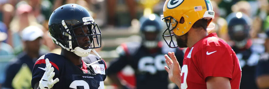 Texans vs Packers 2019 NFL Preseason Week 1 Odds, Prediction & Pick