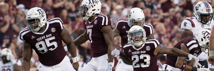 Texas State vs Texas A&M 2019 College Football Week 1 Odds, Game Info and Pick