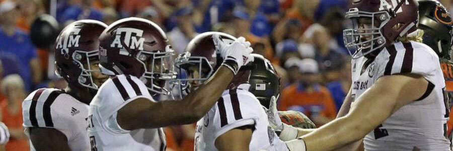 Texas A&M Aggies 2019 Season Win / Loss Total Odds & Betting Prediction