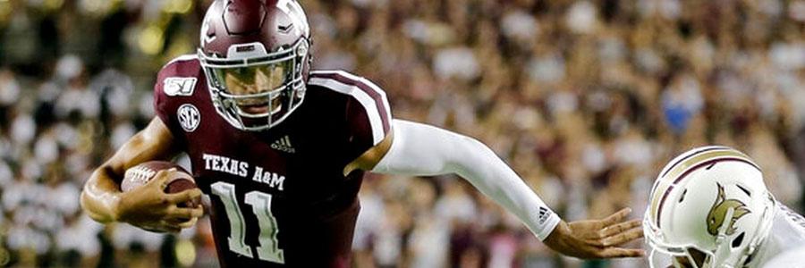Lamar vs Texas A&M 2019 College Football Week 3 Odds, Preview & Pick