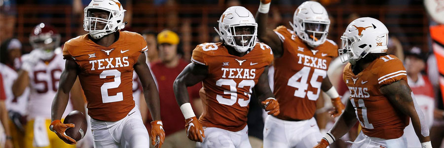 Are the Longhorns a safe bet in NCAA Football Week 4?