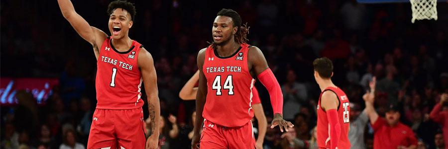 West Virginia vs Texas Tech 2020 College Basketball Spread & TV Info