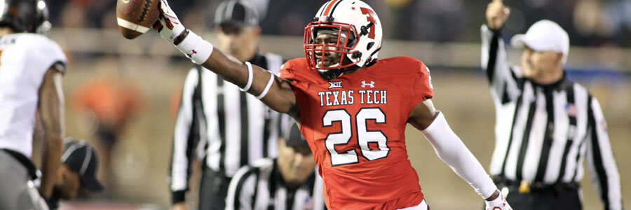 Texas Tech is Underdog in NCAAF Odds for Week 9 vs. Oklahoma