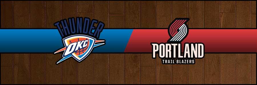 Thunder vs Blazers Result Basketball Score