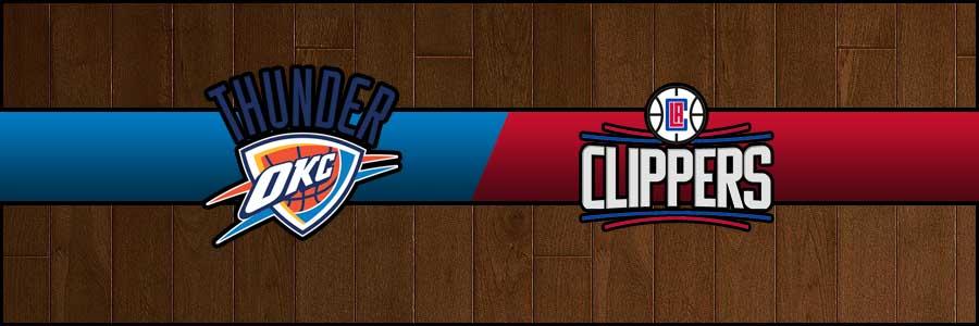 Thunder vs Clippers Result Basketball Score