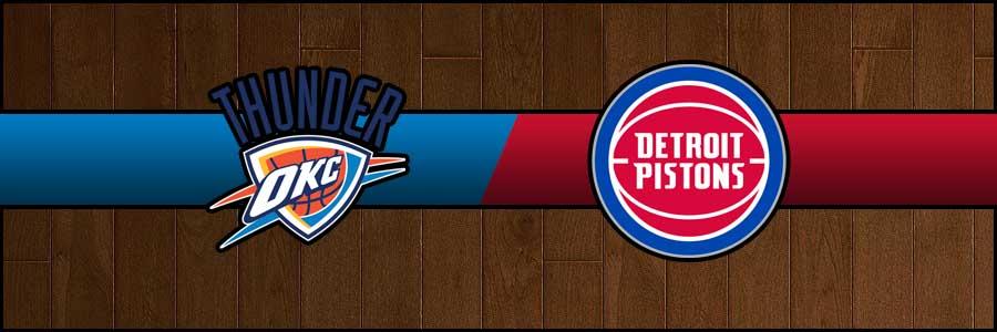 Thunder vs Pistons Result Basketball Score