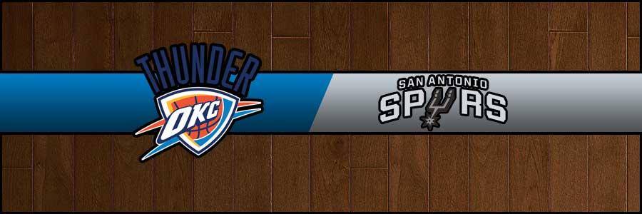 Thunder vs Spurs Result Basketball Score
