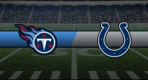 Titans vs Colts Result NFL Score
