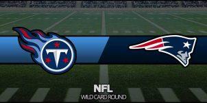 Titans vs Patriots Result NFL Wild Card Score