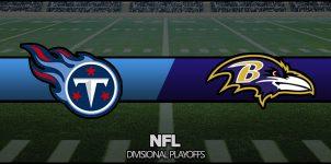 Titans vs Ravens Result NFL Divisional Playoffs Score