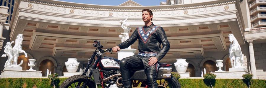 Travis Pastrana Channels Evel Knievel in 'Evel Live' Showcase
