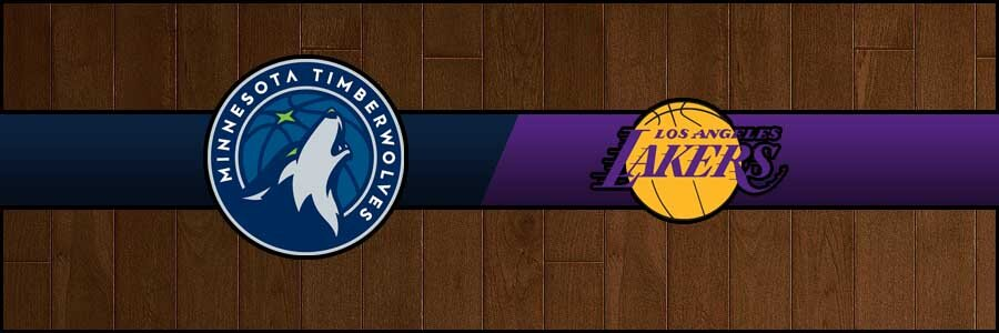 Timberwolves vs Lakers Result Basketball Score