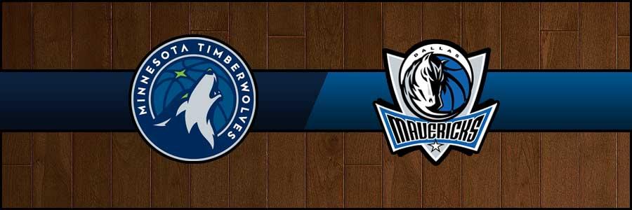 Timberwolves vs Mavericks Result Basketball Score
