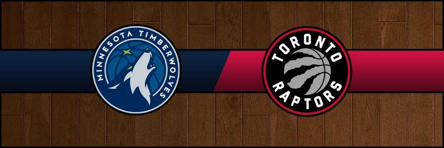 Timberwolves vs Raptors Result Basketball Score