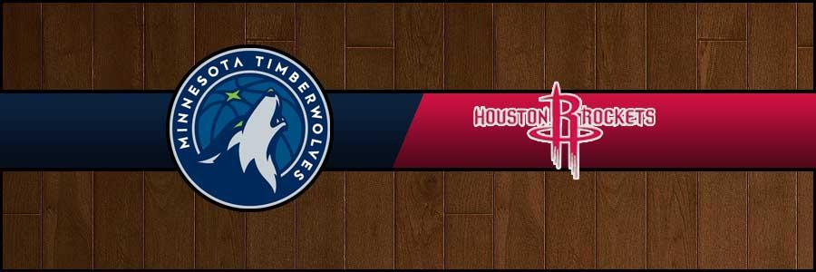 Timberwolves vs Rockets Result Basketball Score