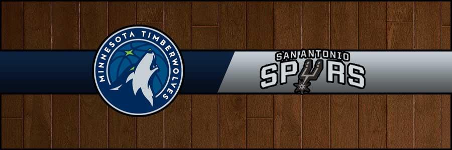 Timberwolves vs Spurs Result Basketball Score