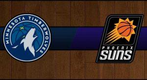 Timberwolves vs Suns Result Basketball Score