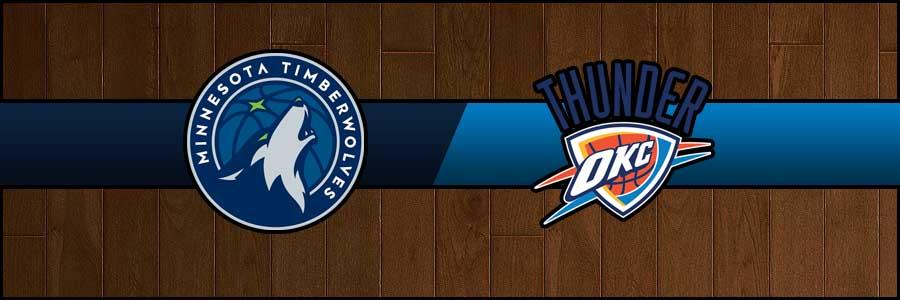 Timberwolves vs Thunder Result Basketball Score