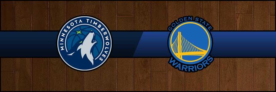 Timberwolves vs Warriors Result Basketball Score