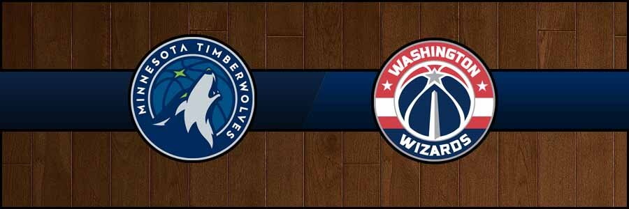 Timberwolves @ Wizards Result Friday Basketball Score