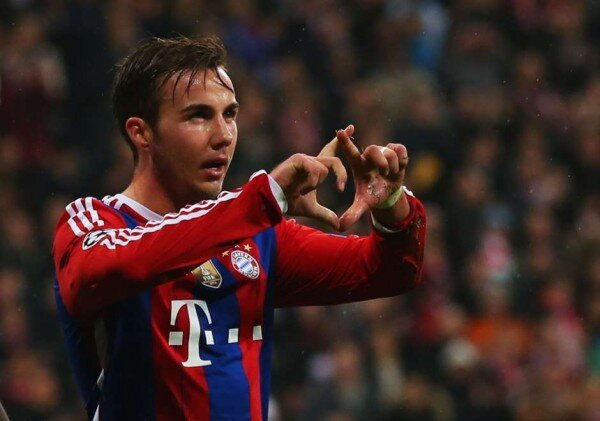 Mario Goetze will face Barcelona in Championship Semifinals this Wednesday