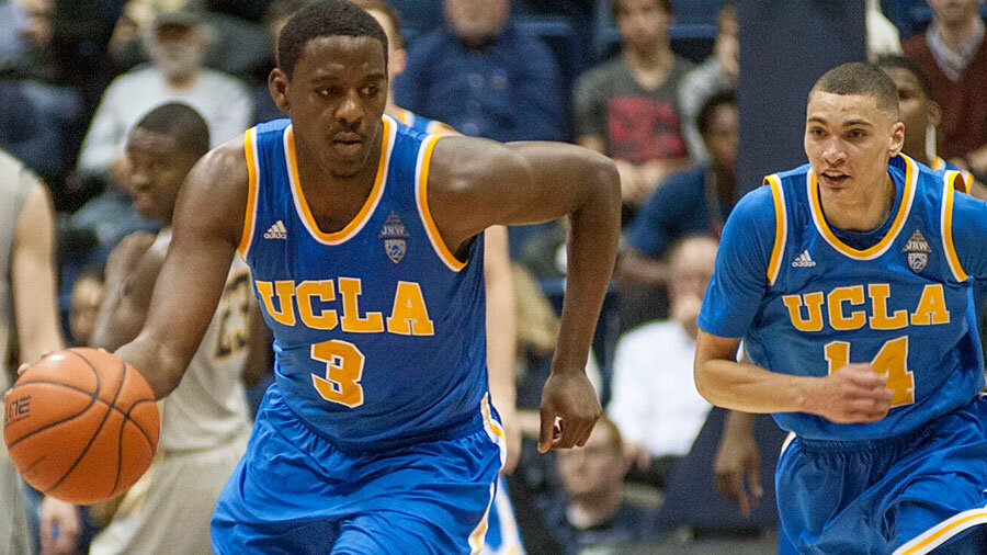 The UCLA Bruins are coming in at rank 25.