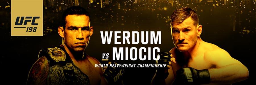UFC 198 Miocic vs Werdum Betting Pick
