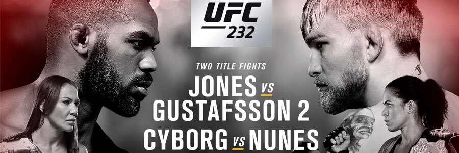 UFC 232 Odds & Betting Preview