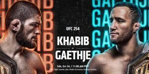 UFC 254: Fight Card