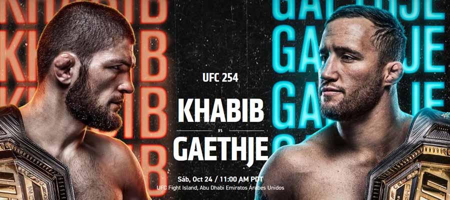 UFC 254: Fight Card
