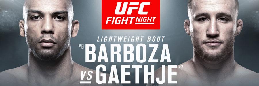UFC on ESPN Barboza vs Gaethje Odds & Predictions