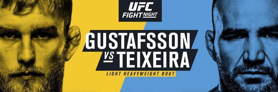 UFC Fight Night 109 Gustafsson vs Teixeira Betting Prediction