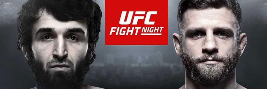 UFC Fight Night 163 Odds, Magomedsharipov vs Kattar Betting and Preview