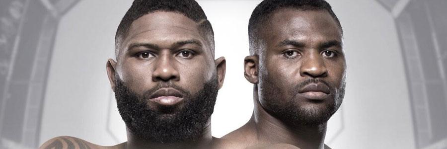 UFC Fight Night 141 Beijing Odds & Preview