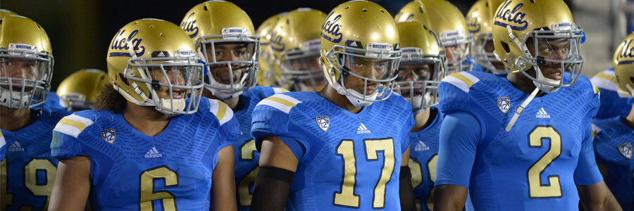 The UCLA Bruins head into the first week of College Football as the betting favorites over the Texas A&M Aggies.